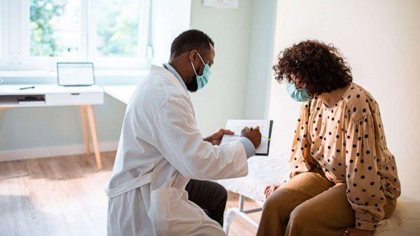 PHOTO: A doctor consults a patient in this stock photo. (STOCK PHOTO/Getty Images)