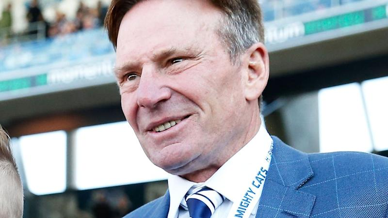 Pictured here, Sam Newman left Channel Nine after making disparaging comments about George Floyd.