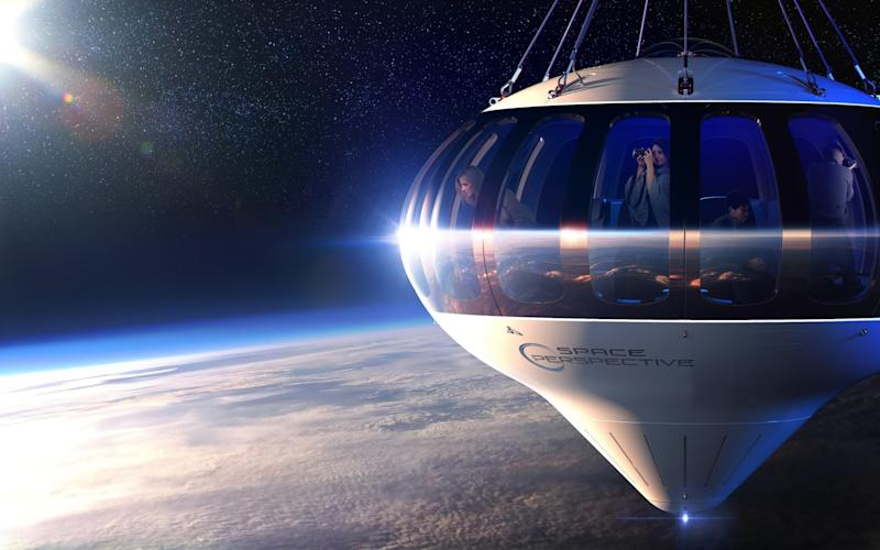 The space balloon - PriestmanGoode/Triangle News