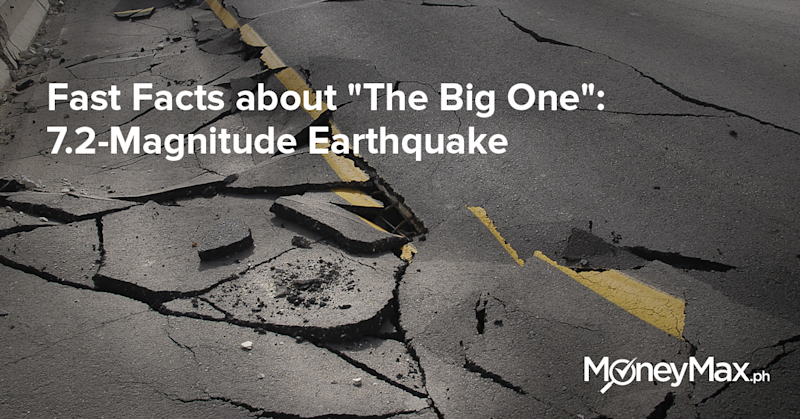 7.2 magnitude earthquake facts
