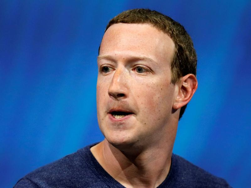 Facebook founder and CEO Mark Zuckerberg told shareholders that the business was thriving: Reuters