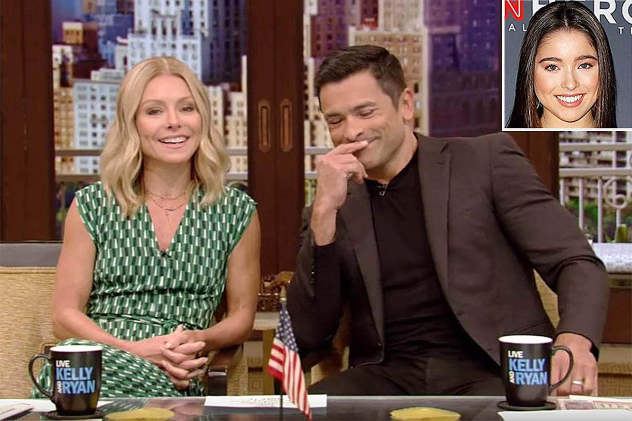 """On an episode of <i>Live with Kelly and Ryan</i>, parents Kelly Ripa and Mark Consuelos revealed that their daughter Lola accidentally walked in on them having sex. The awkward run-in took place on Father's Day, which also happened to be Lola's 18th birthday. The couple said that as they started to have their fun, Lola walked in, """"made eye contact"""" with Ripa, then immediately walked out.  """"She shuts the door and you hear, 'You just ruined my birthday! And my life! And I used to see in color and now everything is gray,' """" Ripa recalled to the audience.  The embarrassing moment continued into their """"awkward brunch,"""" despite Ripa and Consuelos' best efforts to focus on the food.  """"We're eating, and we're like, 'This is delicious, that's delicious,' and she's like, 'You're disgusting,' """" Ripa shared, while Consuelos chimed in, """"She goes, 'You guys have no chill. You think you're 20, but you're not.' """""""