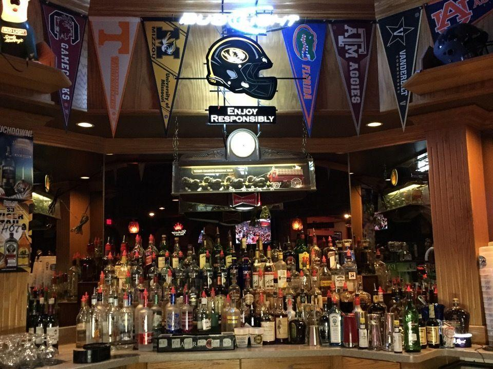 """<p>Broke students can still have a good time at <a href=""""https://go.redirectingat.com?id=74968X1596630&url=https%3A%2F%2Fwww.tripadvisor.com%2FRestaurant_Review-g44257-d954001-Reviews-Shiloh_Bar_and_Grill-Columbia_Missouri.html&sref=https%3A%2F%2Fwww.bestproducts.com%2Ffun-things-to-do%2Fg2528%2Fbest-college-bars%2F"""" rel=""""nofollow noopener"""" target=""""_blank"""" data-ylk=""""slk:Shiloh Bar & Grill"""" class=""""link rapid-noclick-resp"""">Shiloh Bar & Grill</a> thanks to the killer deals. It's the place to be for Sunday Funday <span class=""""redactor-invisible-space"""">— bring your crew to catch a Cardinals game or order </span>thin-crust pizza and post up at one of the tables on the patio.</p>"""