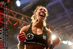 Cristiane Cyborg Justino is 12-1 with one no-contest. (MMA Weekly)