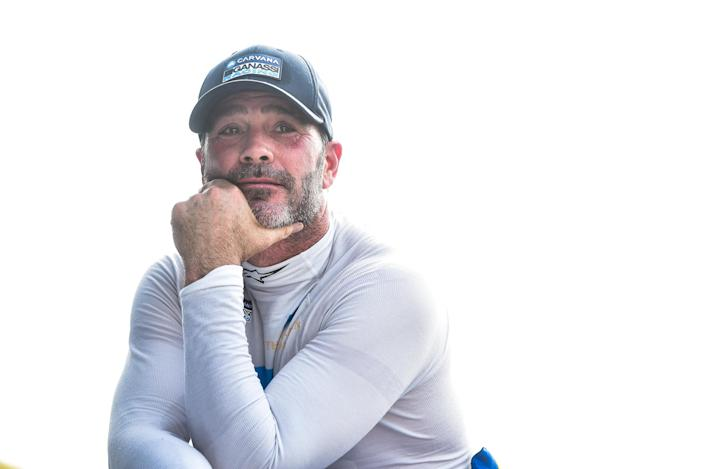 <em>Jimmie Johnson, who is running the road and street courses in the NTT IndyCar Series this season, will make his next start at the Indianapolis Motor Speedway road course (Chris Owens/IndyCar).</em>