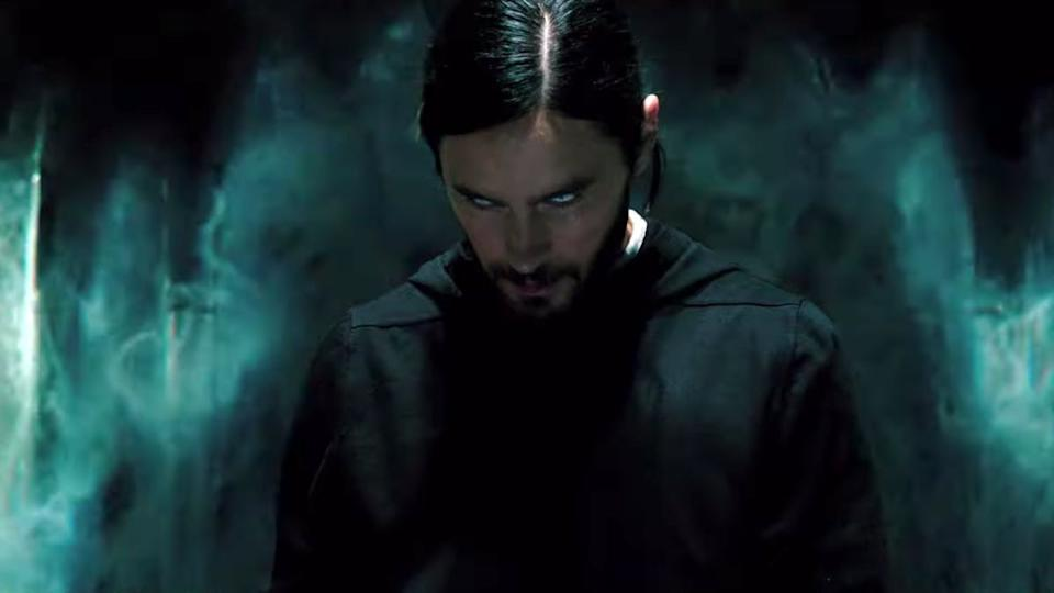 Jared Leto in Morbius (Credit: Sony)