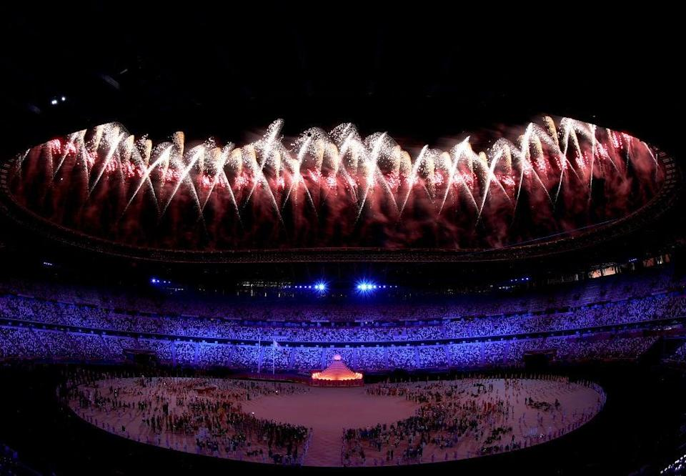 The Olympics officially started with a thrilling opening ceremony on 23 July (Getty Images)