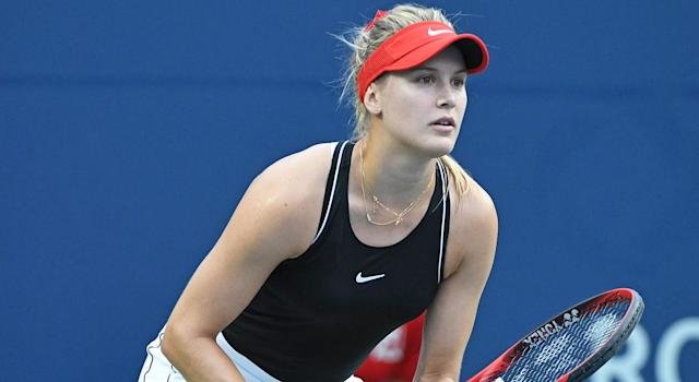 Eugenie Bouchard has run into some bad luck on and off the court. (Getty Images)