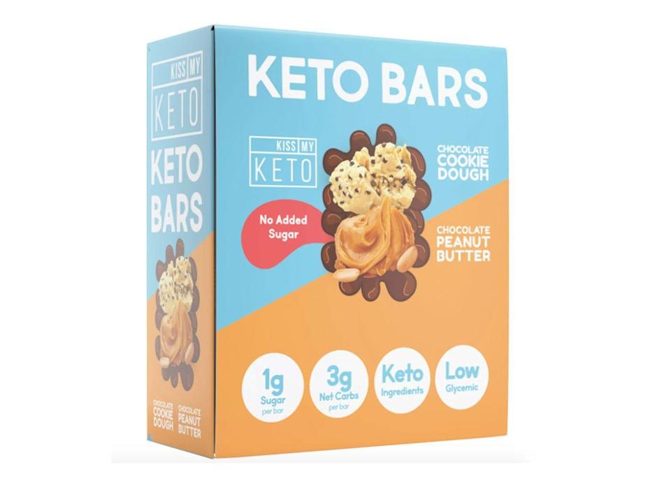 kiss my keto snack bars