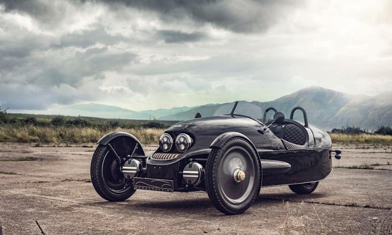The £52,500 EV3 is Morgan's first zero emission 100% electric car.