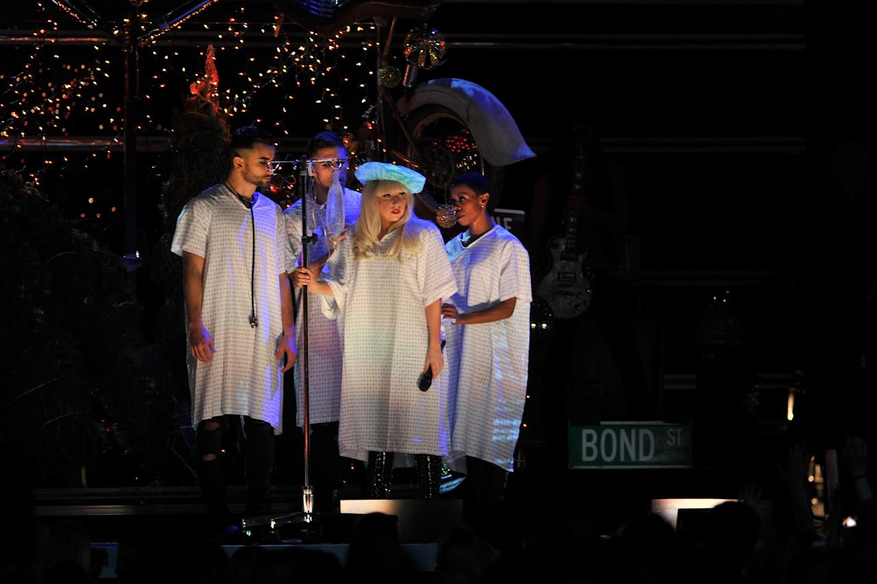 Gaga Gives A Naughty And Nice Concert In Nyc