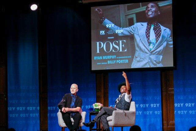 Ryan Murphy and Billy Porter at 92nd st y