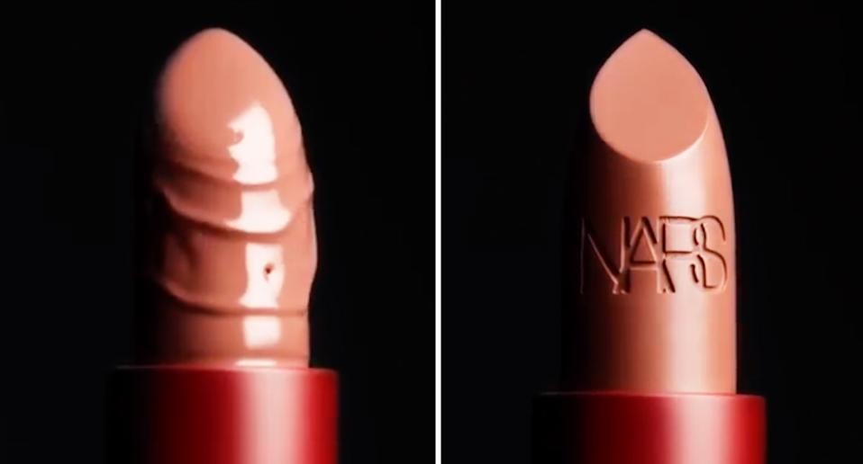 Beauty brands like Nars and Charlotte TIlbury are using sexually-explicit marketing. [Photo: Nars]