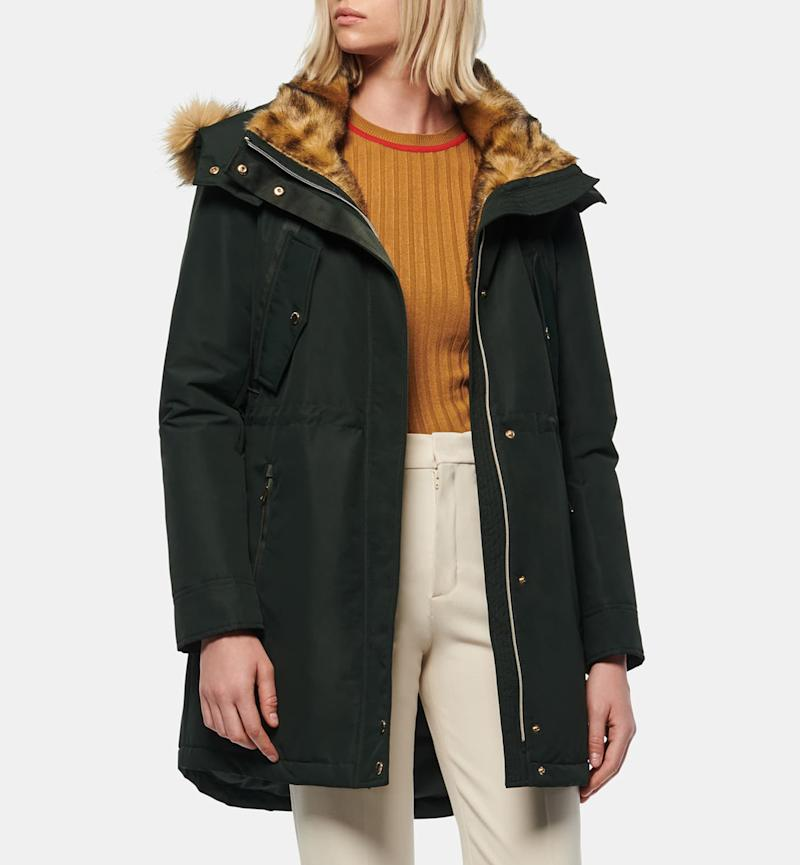 Take on winter in style with this faux-fur-trimmed parka. (Photo: Nordstrom)