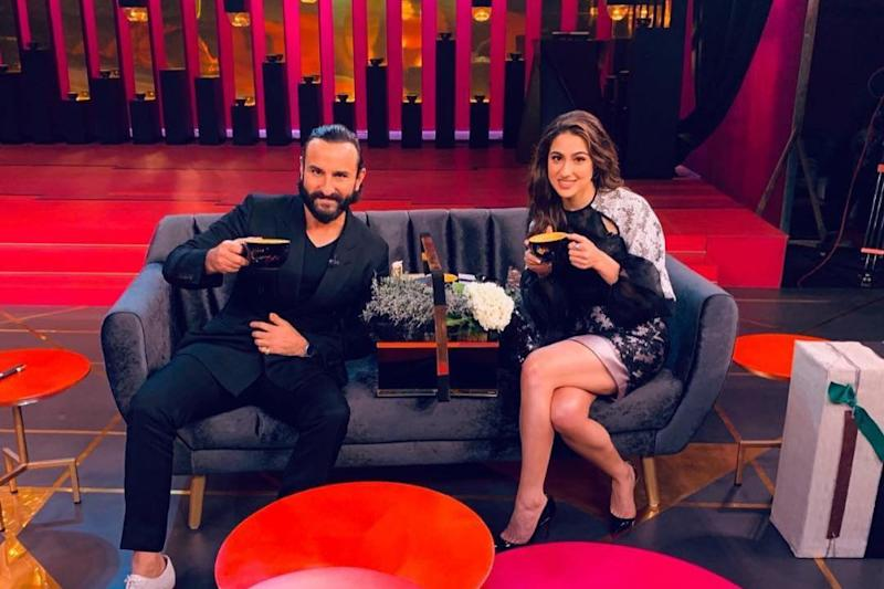 Saif Ali Khan on Sara Not Asking Him for Career Advice: You Have to Make Your Own Decisions