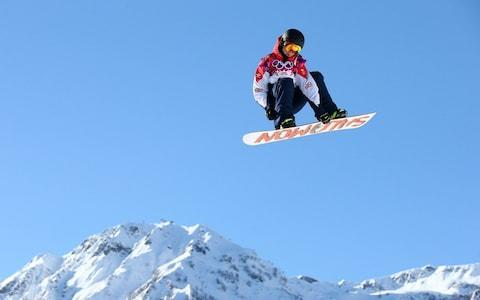 <span>Jamie Nicholls has been snowboarding since he was seven years old</span> <span>Credit: Getty Images </span>