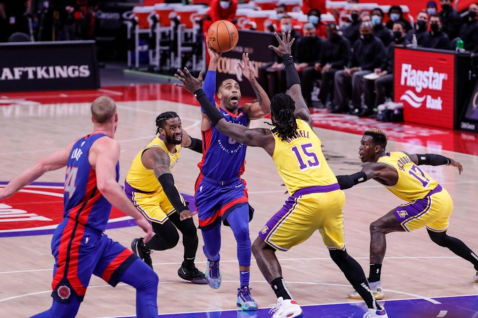 Blake Griffin tallied 23 points, six assists and two rebounds and had perhaps his best game of the season. Wayne Ellington continued his hot streak.