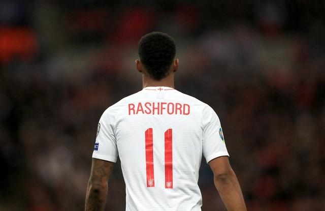Marcus Rashford has made his mark for England as well as Manchester United