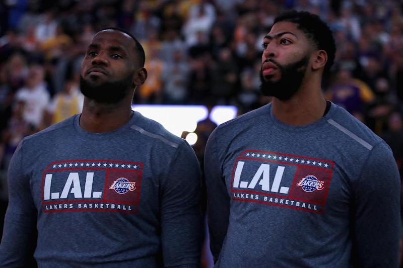 Lakers Lebron James Talked To Anthony Davis On Handling Return To New Orleans