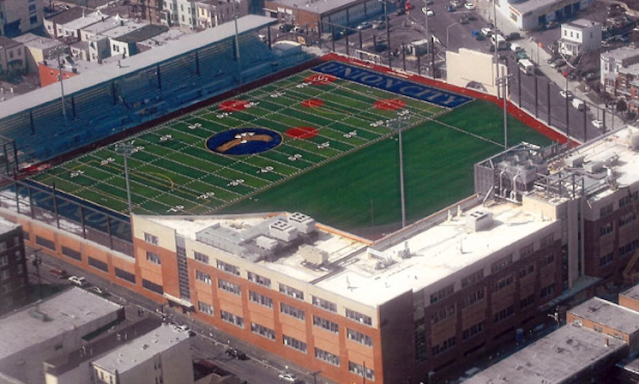 Another elevated view of Union City High's Eagles Nest — Union City High School