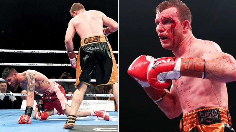 Jeff Horn, pictured here during his win over Michael Zerafa.