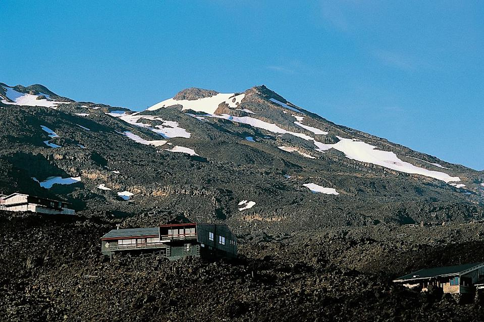Mount Ruapehu, in the north island's Tongariro national park during summer. Source: Getty Images