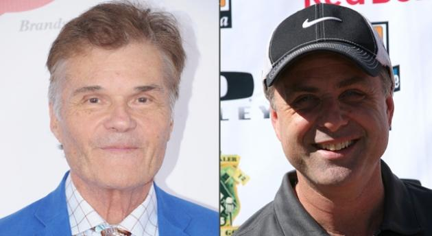 Fred Willard, Mark L. Walberg -- Getty Images