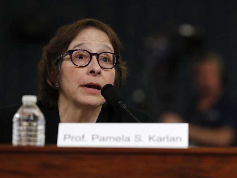 Constitutional law scholar Stanford Law School professor Pamela Karlan apologises for a remark she made about Barron Trump, President Donald Trump's son: AP