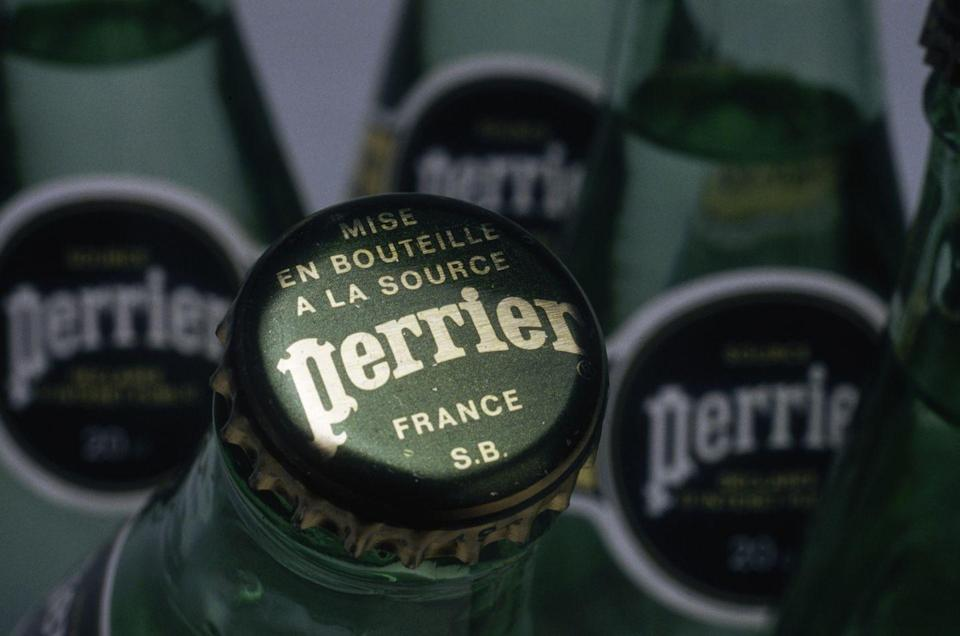 <p>Servers definitely weren't asking customers whether they prefer still or sparkling water. Other than water, Americans drank mostly soda and beer in restaurants until Perrier exploded the sparkling water industry in the states in 1977.</p>