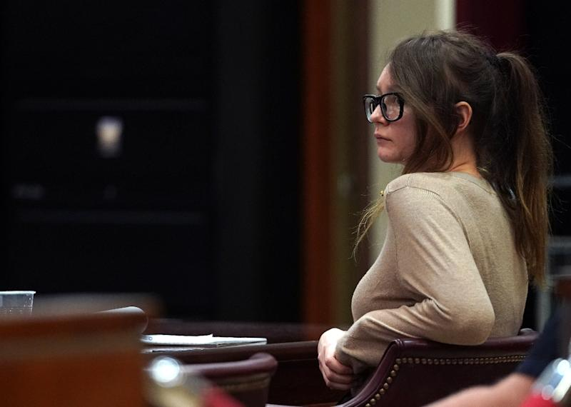 Anna Sorokin faces up to 15 years in prison (AFP Photo/TIMOTHY A. CLARY)