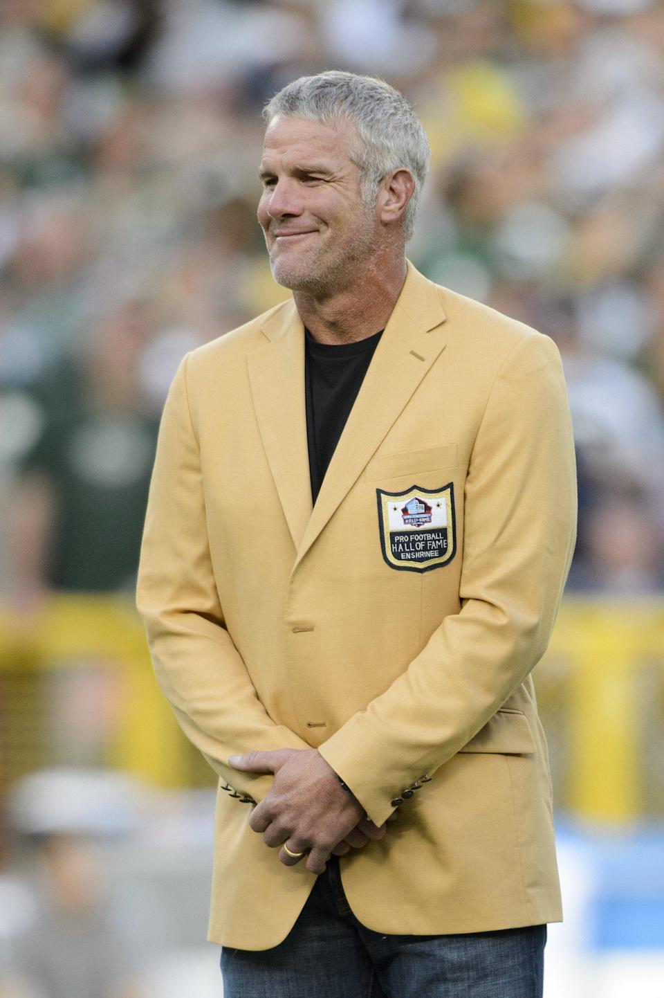<p>Favre retired from the NFL in January 2011 and was inducted into the Pro Football Hall of Fame in 2016.</p>