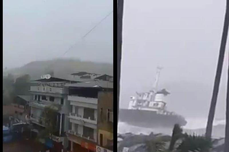 Cyclone Nisarga: Twitter Floods with Horrific Visuals as Storm Makes Landfall in Maharashtra