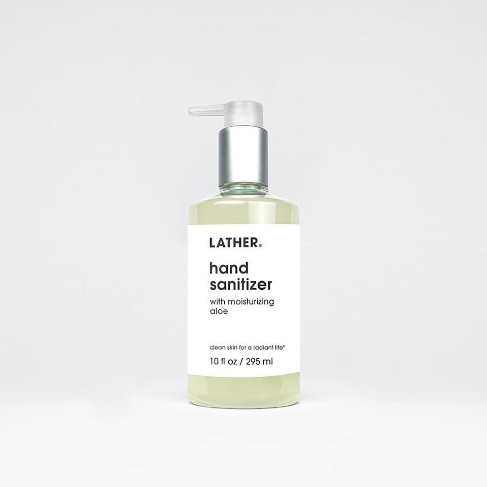 """<p><strong>Lather</strong></p><p>lather.com</p><p><strong>$18.00</strong></p><p><a href=""""https://go.redirectingat.com?id=74968X1596630&url=https%3A%2F%2Fwww.lather.com%2Fcollections%2Fbody%2Fproducts%2Fhand-sanitizer-with-moisturizing-aloe&sref=https%3A%2F%2Fwww.womenshealthmag.com%2Fhealth%2Fg31469255%2Fbest-hand-sanitizers%2F"""" rel=""""nofollow noopener"""" target=""""_blank"""" data-ylk=""""slk:Shop Now"""" class=""""link rapid-noclick-resp"""">Shop Now</a></p><p>Lather's new hand sanitizer has a refreshing, citrus aroma from orange peel oil. It also contains 65 percent alcohol to kills germs and aloe vera, rose water, witch hazel, and yucca extracts help hydrate skin.</p>"""