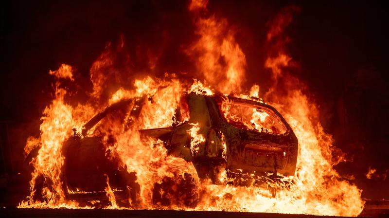 California Wildfires Kill 11 People Trapped In Vehicles And Homes
