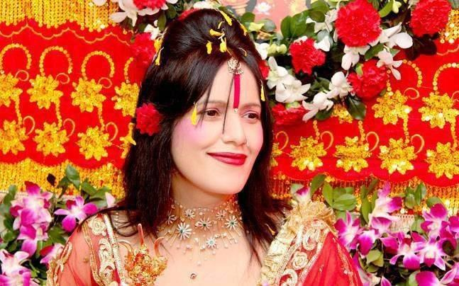 "<p>Radhe Maa is a controversial, self proclaimed spiritual leader based out of the Borivali suburb of Mumbai. In September 2017 Punjab and Haryana High Court ordered police to file a First Information Report on her prompted by recent controversies surrounding self-styled godmen. Radhe Maa was listed among 14 ""fake spiritual leaders"" by Akhil Bharatiya Akhara Parishad, the apex body of Hindu sadhus. </p>"
