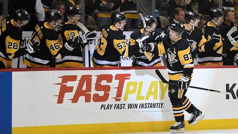 Sidney Crosby scores, records three assists in return for Pittsburgh Penguins
