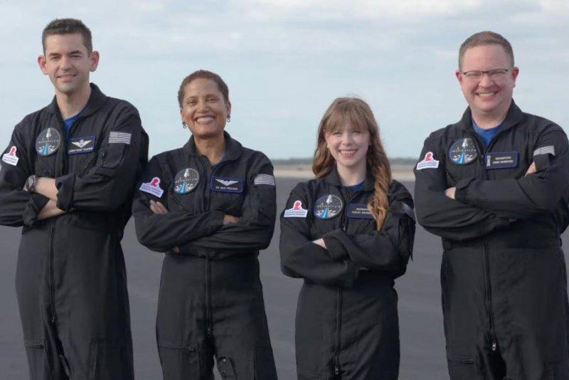 Inspiration4, SpaceX's first all-civilian space mission - crew members