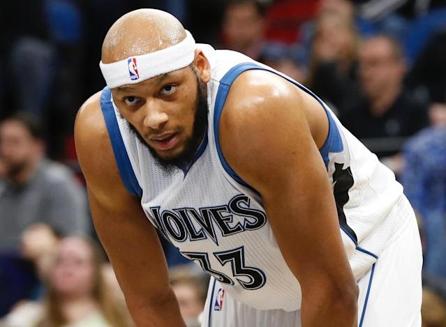 The Orlando Magic reportedly cut Adreian Payne after his name surfaced in a sexual assault scandal. (AP)