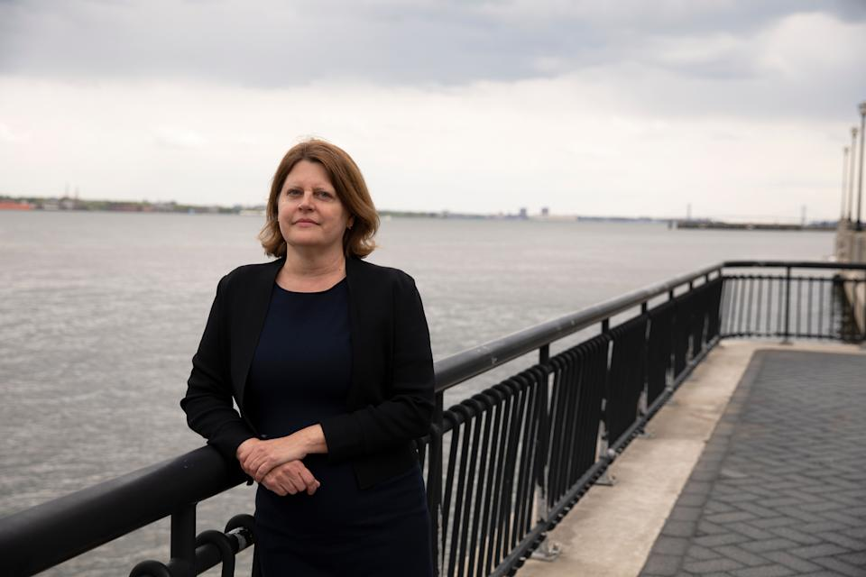 JERSEY CITY, NJ - MAY 11: Sally Buzbee was announced as the new executive editor of the Washington Post on Tuesday, May 11, 2021. (Celeste Sloman for the Washington Post) (Photo: The Washington Post via The Washington Post via Getty Im)