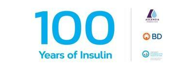Celebrating 100 Years of Insulin Discovery - Ontario Pharmacists Association, BD Canada, Ascensia Diabetes Care (CNW Group/Ontario Pharmacists Association)