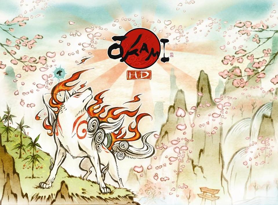 Okami HD for the switch is the perfected version of a beloved classic.