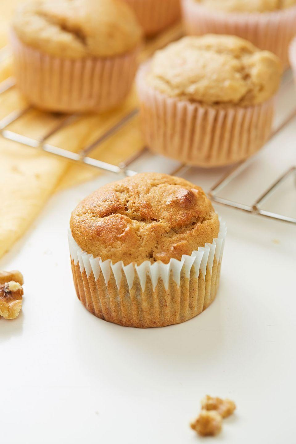 "<p>These are a great way to start your morning.</p><p>Get the recipe from <a href=""https://www.delish.com/cooking/recipe-ideas/a32936759/banana-nut-muffins-recipe/"" rel=""nofollow noopener"" target=""_blank"" data-ylk=""slk:Delish"" class=""link rapid-noclick-resp"">Delish</a>.</p>"