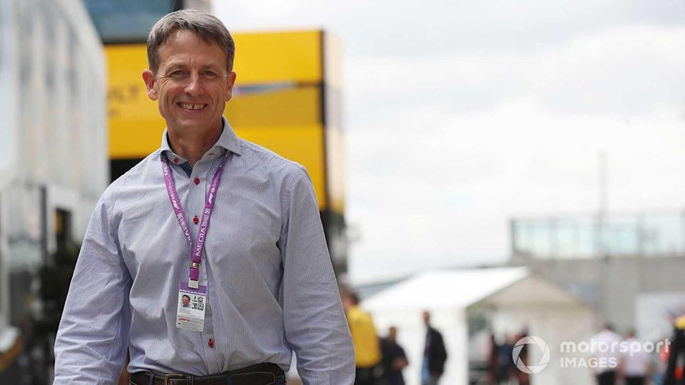 Ben Edwards in the paddock at British GP 2019