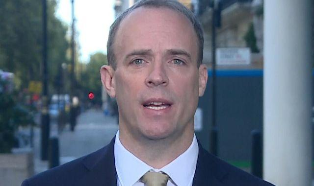 Brexit: This week is 'moment of reckoning' for UK-EU trade deal with two sticking points remaining - Raab