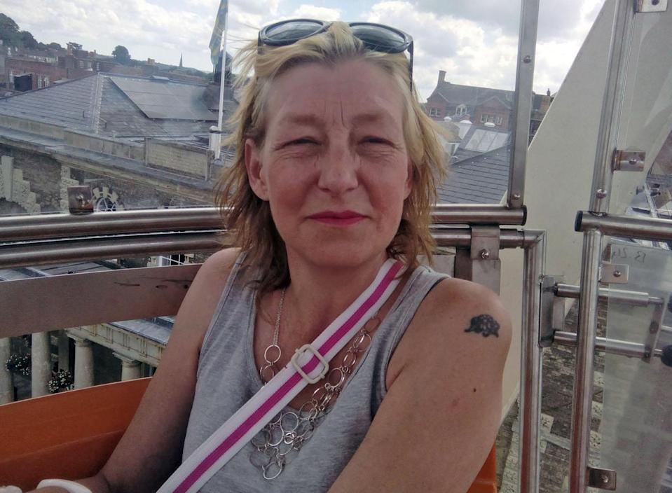 Dawn Sturgess died after being exposed to Novichok in Amesbury, Wiltshire, in July. (Rex)