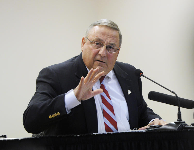 Maine Gov. Paul LePage (R) is leading the opposition to expanding Medicaid in his state.