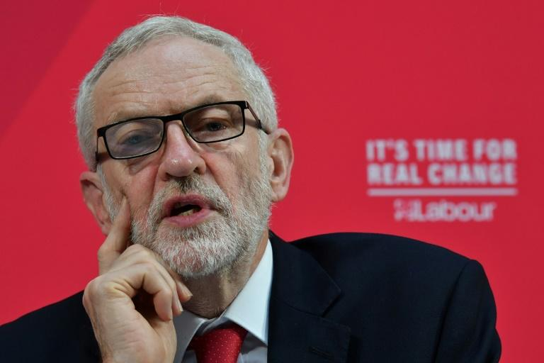 """Jeremy Corbyn has repeatedly said he """"abhors"""" anti-Semitism but his defenders argue the accusations stem purely from his opposition to Israel's actions against the Palestinians (AFP Photo/Ben STANSALL)"""