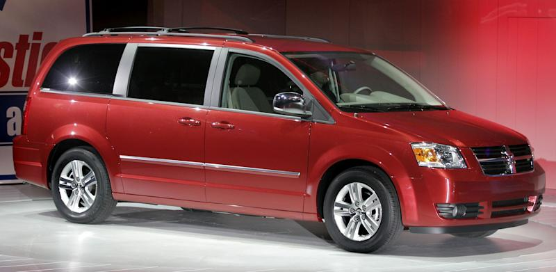 The Dodge Caravan minivan is the fastest-selling used vehicle according to data from allclassifieds.ca (Photo by Bill Pugliano/Getty Images)