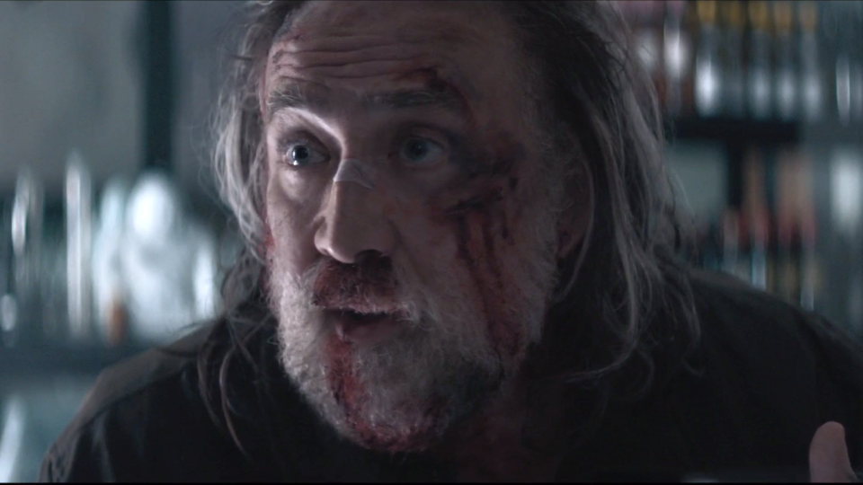 Nicolas Cage is receiving hugely positive critical notices for his work in new thriller 'Pig'. (Neon/Altitude)