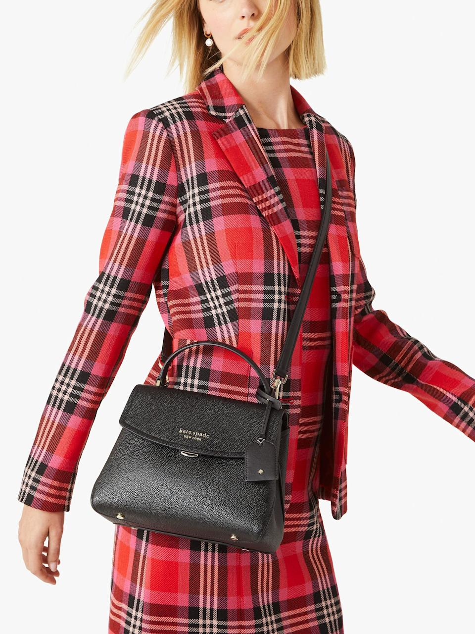 <p>This timeless <span>Thompson Small Top-Handle Bag</span> ($298) is something you can use for years to come. Plus, the design makes it quite convenient to use.</p>
